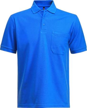Fristads Acode Heavy Pique Polo Shirt with Pocket 1721 PIQ (Royal Blue)